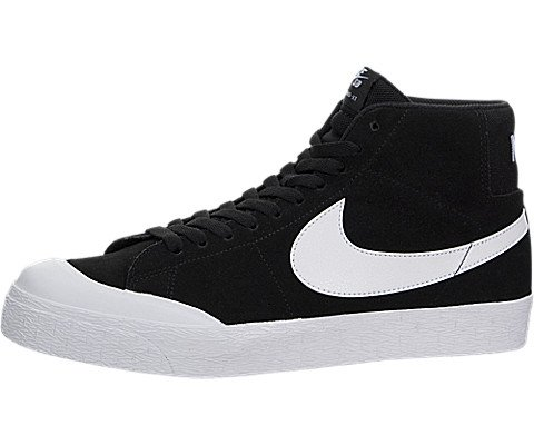 Nike Herringbone Blazer (NIKE Mens Blazer SB Premium Skate Shoe (10 D(M) US, Black/White/Gum Light Brown))