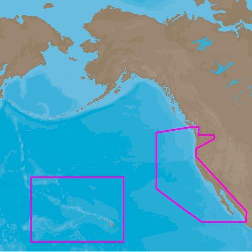 C-Map 4D Full US West Coast & Hawaii SD/MSD Card