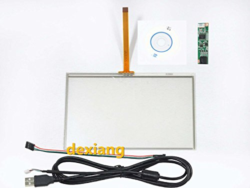 5 Inch 4 Wire Resistive Touch Screen USB Controller Kit 117x71mm For EJ050NA-01G