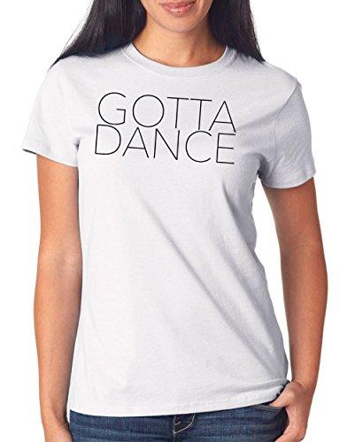 Gotta Dance T-Shirt Girls White