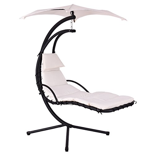 hanging chair with stand - 8