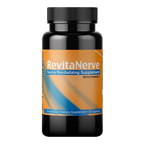 Neuropathy Pain Relief, Once-per-Day, Nerve Revitalizing Supplement Protect and Regenerate Nerves (1 Bottle 30 Count)