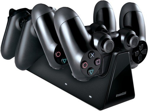 dreamGEAR PS4 charging station 2 + 2 - Quad Dreamgear Dock