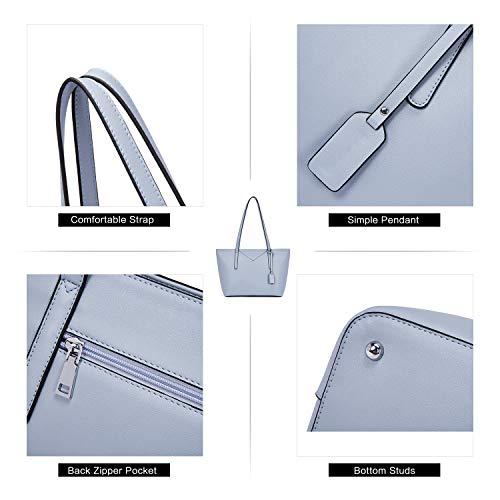 BROMEN Women Handbags Designer Leather Tote Purse Large Capacity Purses and Handbags Shoulder Bag 6