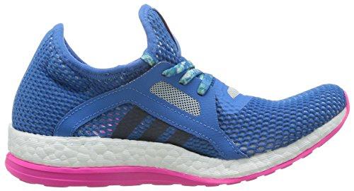 Pure Boost Adidas Vrouwen X Loopschoenen, Violet Blauw / Roze (supazu / Azumin / Rosimp)