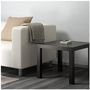Black-Brown and Square Table, Size 55cm x 55cm x 45cm, Acrylic paint