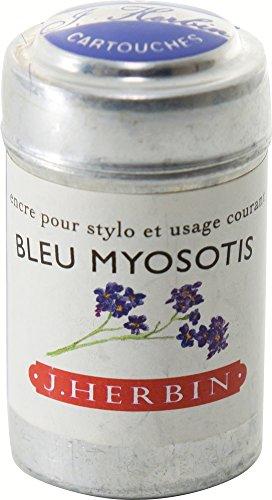 J. Herbin Ink Cartridges Bleu Myosotis