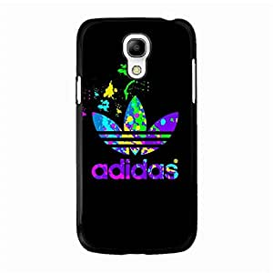 Shockproof Samsung Galaxy S4 Mini Cell Phone Case,Original Classical Adidas Logo Design Phone Back Case for Samsung Galaxy S4 Mini
