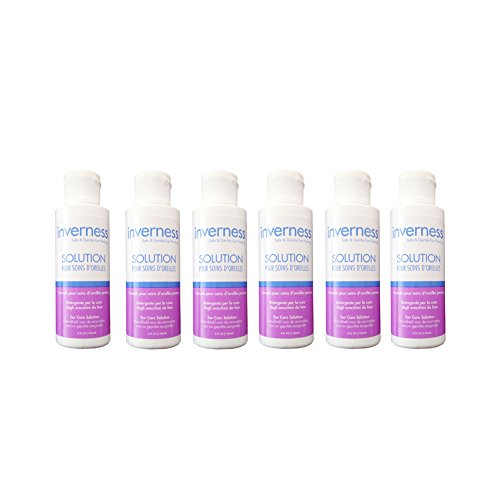 INVERNESS After Piercing Ear Care Solution 4 oz 6 pc Set