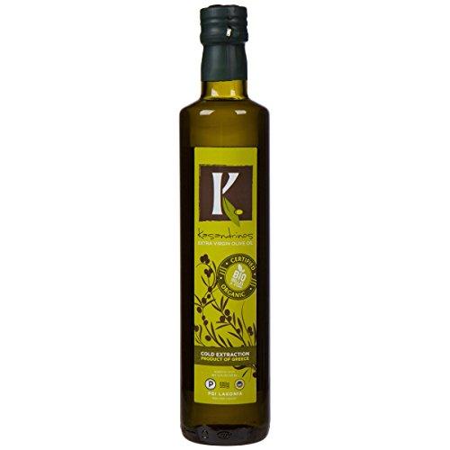 [Kasandrinos Organic Extra Virgin Greek Olive Oil (500 ML Bottle)] (Greek Extra Virgin Olive Oil)