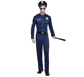 Disfraz de Policía para hombre: Amazon.es: Juguetes y juegos