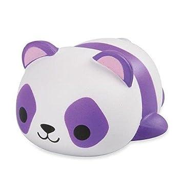 Oficial Soft N Slo Squishies Animal Pals Juguetón Panda Mega Squishie
