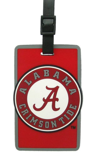 NCAA Alabama Crimson Tide Soft Bag Tag Alabama Crimson Tide Luggage Tag