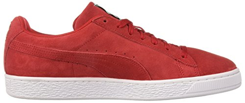 Classic Suede Sneakers Rouge Mixte Basses blanc Adulte Puma SPqw5dS