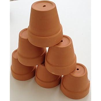 "Pennington Mini Flower Pots 2"" Terra Cotta (6 Pack)"