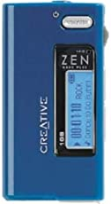 Creative zen resource learn about share and discuss creative zen creative zen nano plus 1 gb mp3 player blue fandeluxe Gallery