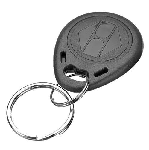 Chaveiro Mini Tag Convencional Kit 10 Peças Preto