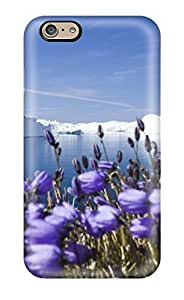 CaseyKBrown AsgiWSZ1863vfwCf Case Cover Skin For Iphone 6 (purple Arctic Flowers)