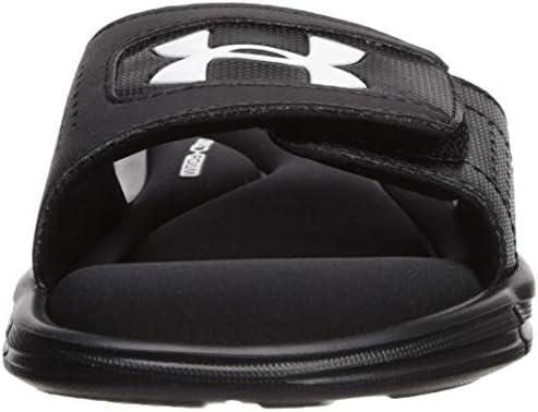 Details about  /Under Armour Ignite V slides flip flop sandals shoes NEW mens/' 4 boys/' 5 black
