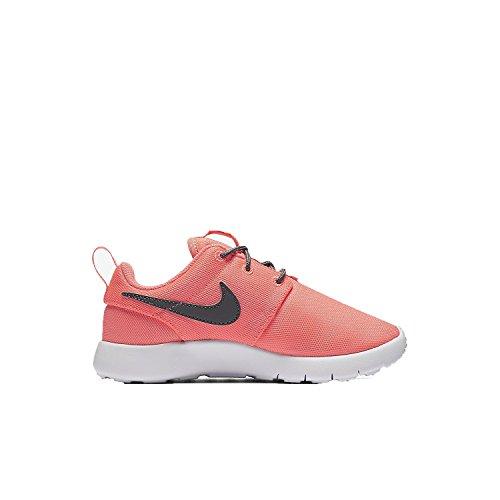 Nike roshe One Sneaker niños, pink / grau / weiß