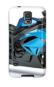 High Quality Kawasaki Ninja Zx 6r Blue Motorcycle Case For Galaxy note4 / Perfect Case