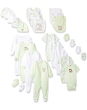 Baby 26 Piece Essentials Gift Set, Teddy, 0-3 Months
