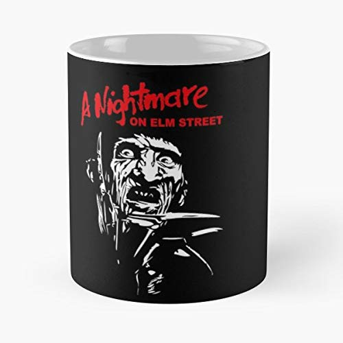 Freddy Krueger Meme (Freddy Krueger Robert Englund New Nightmare 11 oz Mug Best gifts for Halloween)