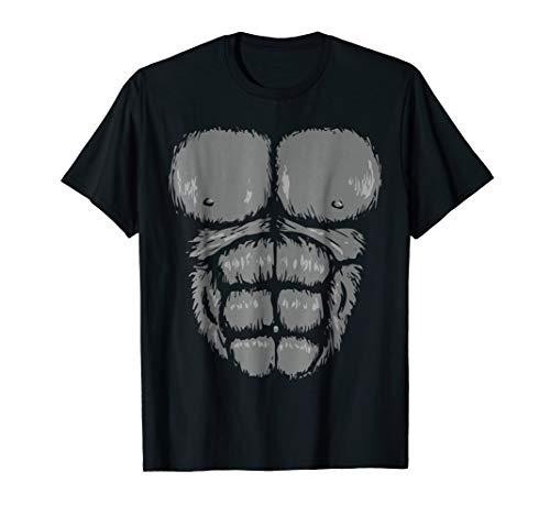 Gorilla Chest Halloween Costume Shirt