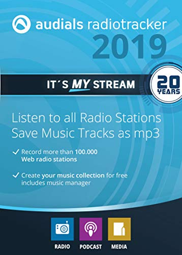 : Audials Radiotracker 2019 [PC Download]