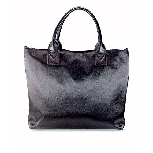 Pinko Damen 1H20DMY4CGZ99 Schwarz Stoff Handtaschen