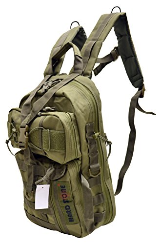 Explorer B8-OD Tactical Hydration Pack Ready Backpack with Molle & Chest Strap, OD