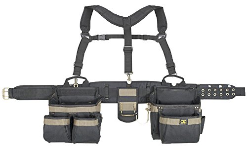 aft 6714 31 Pocket, Heavy Duty Framers 5-Piece Comfort-lift Combo Tool Belt Apron (Tool Lift)