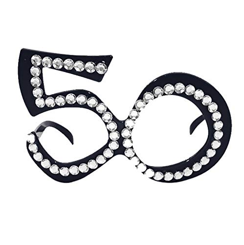 Glumes Happy Birthday Glasses - 1-Pack Party Eyeglasses Frames, Birthday Party Supplies, Novelty Decoration Photo-Booth Prop Party Favors for Children and Adults]()