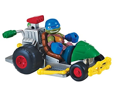 Turtles Patrol Buggy with Leo Half-Shell Heroes Vehicle And Figure