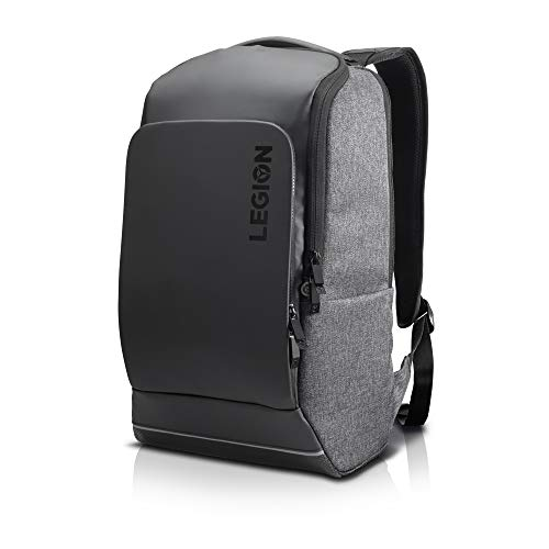 Lenovo Canada Legion Recon 15.6 Inch Gaming Backpack, Sleek, Modern, Lightweight, Water-Repellent Front Panel, Breathable Back Padding, for Gamers, Causal or College Students, GX40S69333