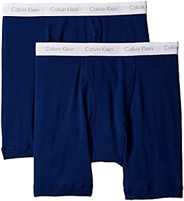 Calvin Klein Men's Tall Big-2 Pack Cotton Classics Boxer Brief