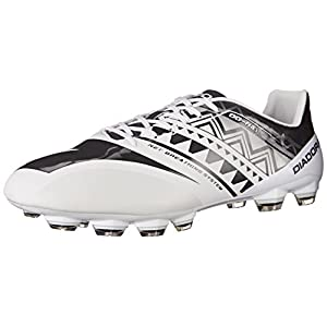 Diadora Men's DD-NA 3 GLX14 Soccer Cleat, White/Black, 10 M US
