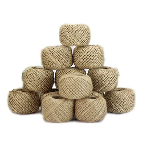 ONLY-FOR-ME-1 Jute Twine 30meter Natural Sisal 2mm Rustic Tags Wrap Wedding Decoration Crafts Twisted Rope String Cord Events Party Supplies