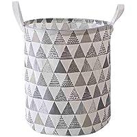 XLStore Large Folding Waterproof Canvas Laundry Storage Basket (Various Colors)