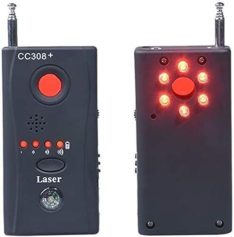 ANYWN Detector De Micr/ófonos Ocultos Microesp/ías K18 Detector Anti-Esp/ía De RF para Micr/ófono Oculto Inal/ámbrico Y Aparatos De Escuchar