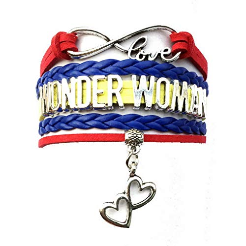 Good Ideas For Comic Con Costumes (Woman Bracelet Double Heart Charm Comic Con Infinity Jewelry Cosplay)