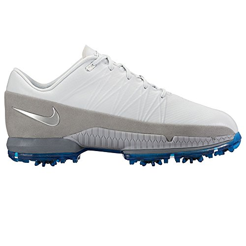 Nike Air Zoom Attack Golf Shoes 2016 Grey/Silver 9