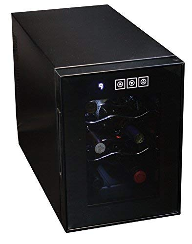 Koolatron WC06 Wine Cellar (6 Bottle), Black