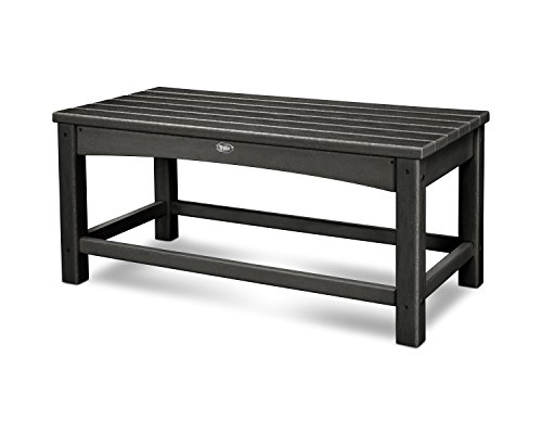 Trex Outdoor Furniture Rockport Club Coffee Table, Charcoal Black -