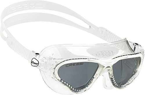Cressi Cobra, clear/white, tinted lens by Cressi