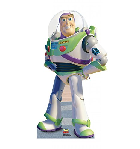 [Buzz Lightyear - Disney Pixar's Toy Story - Advanced Graphics Life Size Cardboard Standup] (Made Up Superhero Costumes Ideas)