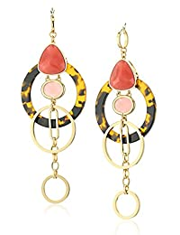 kate spade new york Pink/Multicolored Statement Earrings