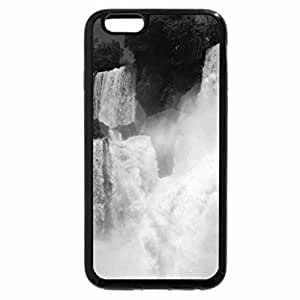 iPhone 6S Case, iPhone 6 Case (Black & White) - Iguazu Falls, Argentina