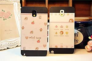 Galaxy S5 Case,Mini Love Cutie Pink Back Case Cover for Samsung Galaxy S5 I9600, 1 piece Pink