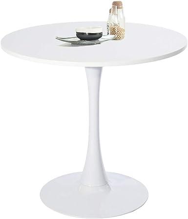 Amazon De Furniture R France Esstisch Rund Klein Kuchentisch Aus Holz Kaffeetisch Burotisch